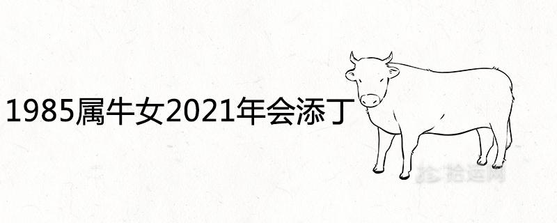 1985属牛女2021年会添丁吗 会儿女双全吗